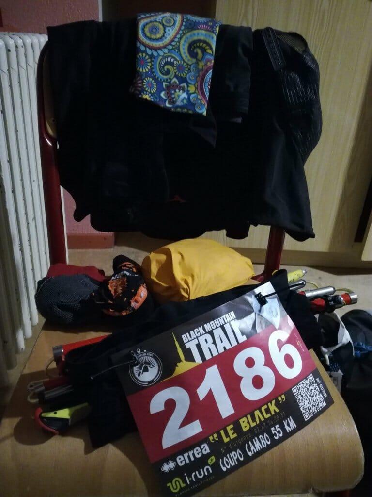 Racepack peu conventionnel la veille de la Coupo Cambo